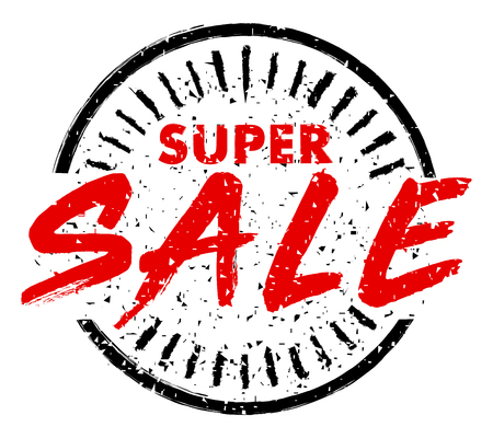 SUPER SALE rubber stamp grunge style