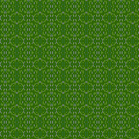 Vector ornament seamless pattern wallpaper, green theme embroidery