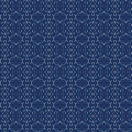 Vector ornament seamless pattern wallpaper, blue theme embroidery Ilustrace