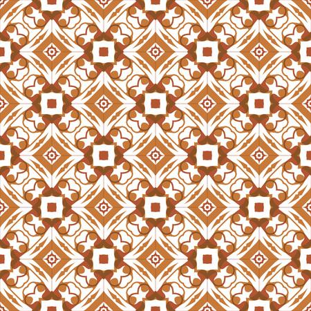 Vector ornament seamless pattern wallpaper, khaki theme 矢量图像