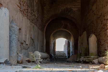Pouzzoles, Naples, Italie. 20 août 2019. L'Amphithéâtre Flavien est l'un des deux amphithéâtres romains qui existent encore aujourd'hui.