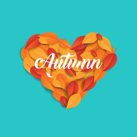 autumn love concept