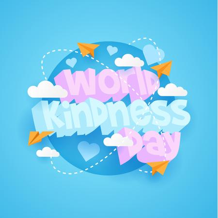 Journée mondiale de la gentillesse avec 3d