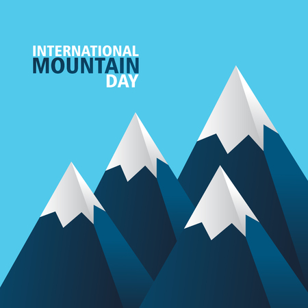 Creative Design for international mountaind day and more