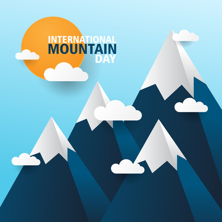 International mountaind day concept