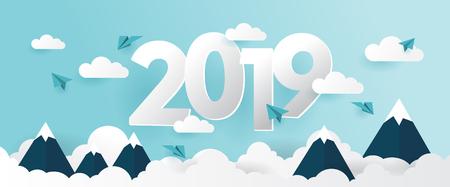 2019 creative banner 写真素材 - 117626890