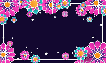 ornament background with islamic style