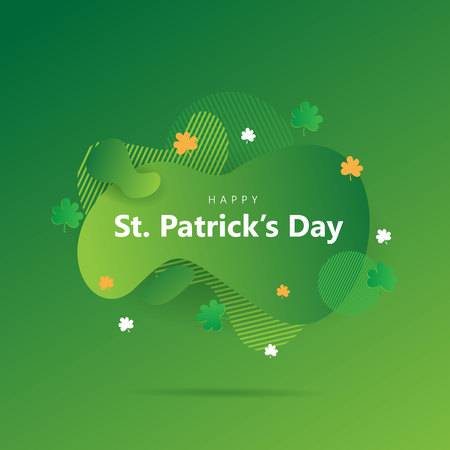 St. patricks day creative background