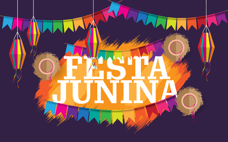 festa junina creative background