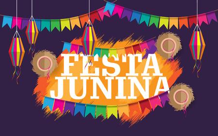 festa junina creative background
