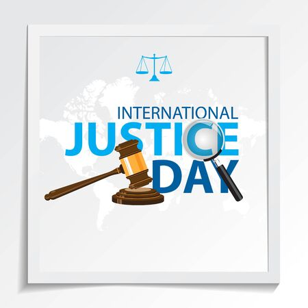 international justice day background