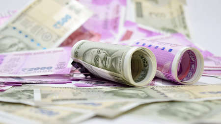 five rupee: New Indian Paper currency