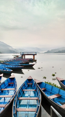 phewa: Scenic View Of Phewa Lake