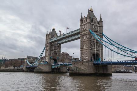 London Tower Bridge, one of landmarks in London,England Stock Photo