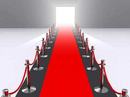 red carpet: a red carpet premiere concept