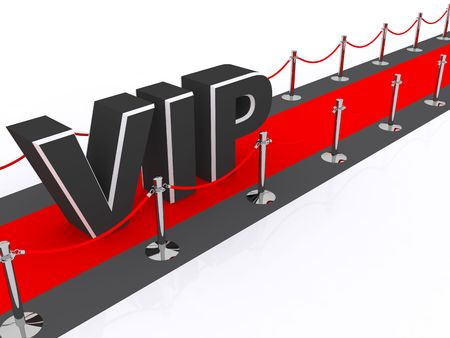 important: a red carpet VIP premiere concept Stock Photo