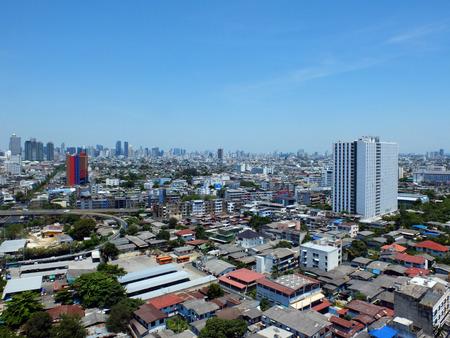 vue ville: Bangkok vue sur la ville