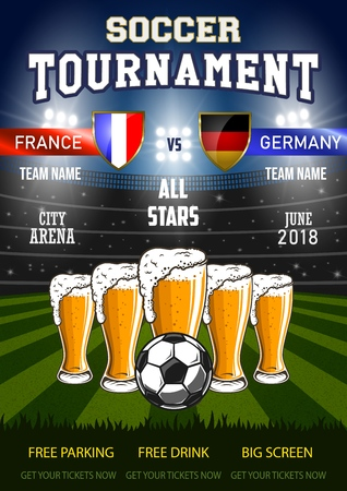 Soccer with beer