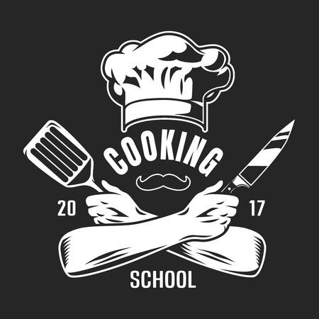 Vintage cooking classes  emblem