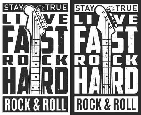 Rock festival poster.