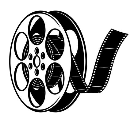 Vintage film reel concept