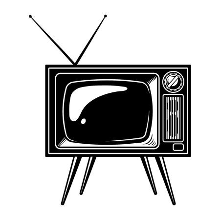 Retro TV set concept