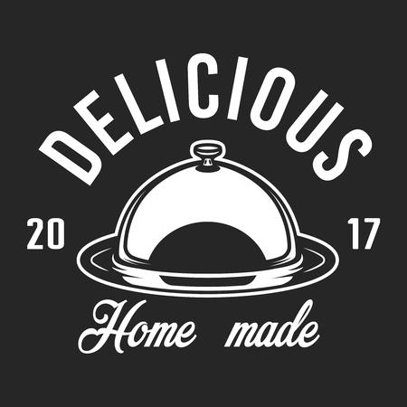Monochrome kitchen utensil logotype Banque d'images - 102169944