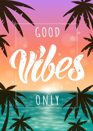 Good Vibes illustration