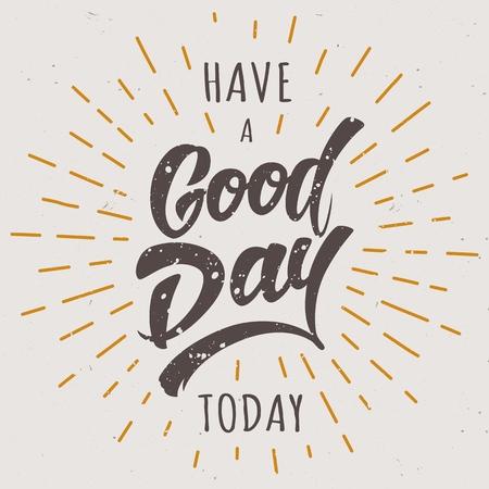 今日は良い一日です 写真素材 - 104672976