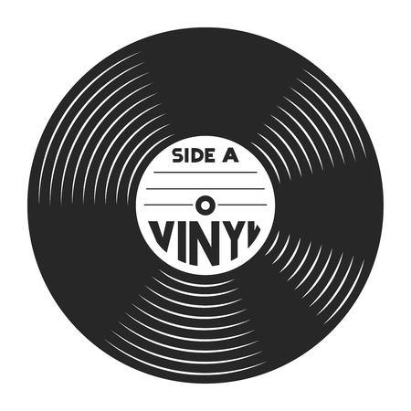 Retro vinyl record concept Banque d'images - 104040121