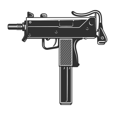 Vintage UZI weapon concept