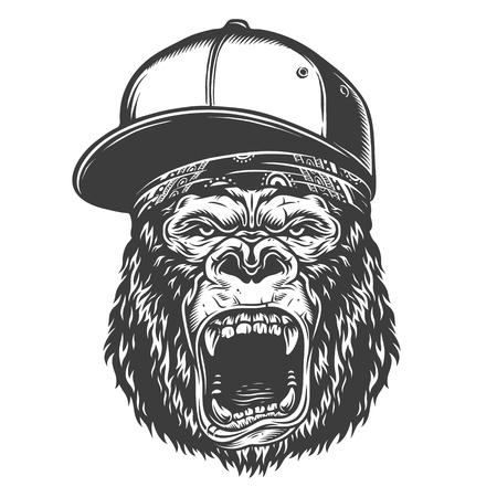 Head of gorilla 스톡 콘텐츠 - 104040137
