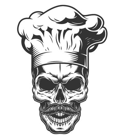 モノクロヴィンテージ頭蓋骨