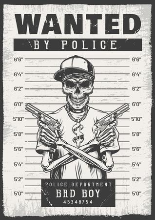 Gezocht moderne poster