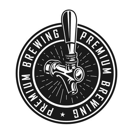 Vintage premium brewery label