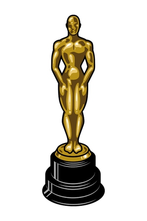 Vintage cinematic academy award template
