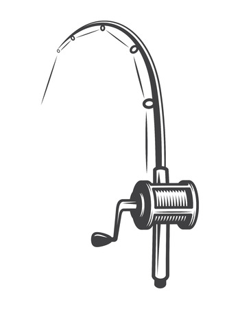 Vintage fishery equipment concept