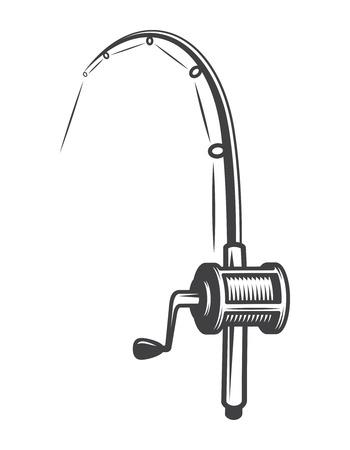 Vintage visserijuitrusting concept