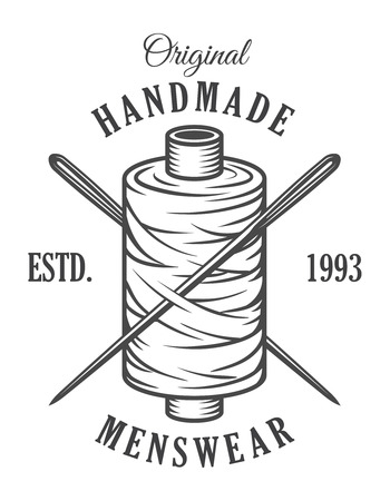 Vintage monochrome Schneider Emblem Vektorgrafik