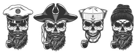 Satz von Seeleuten.