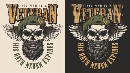 Emblème du concept vétéran