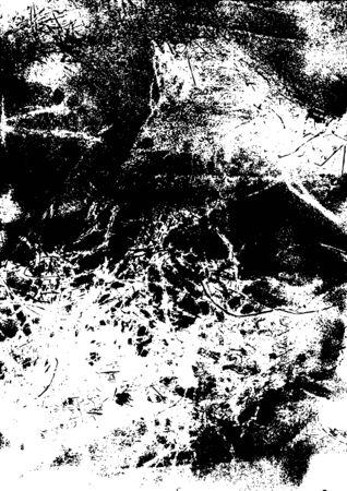 Concepto de textura grunge vintage con efectos angustiados y sucios ilustración vectorial Ilustración de vector