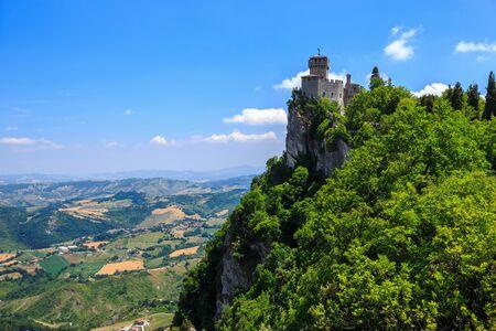 San Marino second tower: the Cesta. San Marino, Italy.