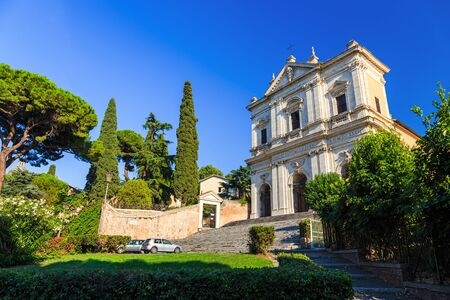 San Gregorio Magno al Celio is a mediaeval monastic and Benedictine church