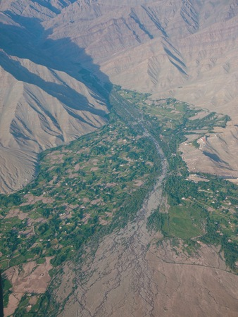 Leh City from above