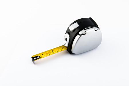 Tools  Measure tape on white