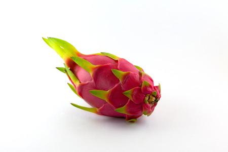 priceless: Dragon fruit on white background