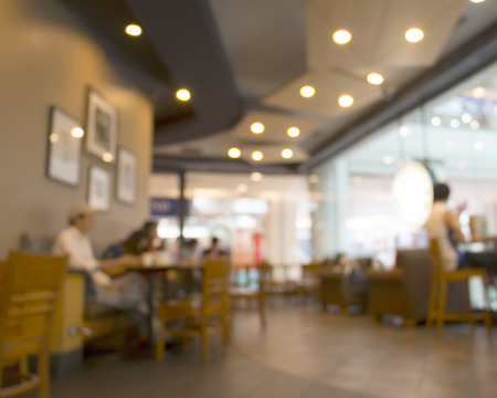 Coffee Shop Blurred background