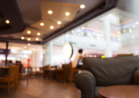 Coffee Shop Wazig achtergrond