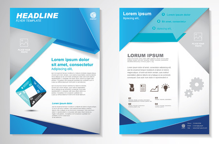 Vector Brochure Flyer design Layout template.infographic